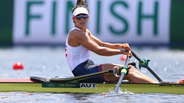 Rowing - Women's Single Sculls - Quarterfinal 3