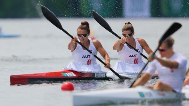 Canoe Sprint - Women's K2 500m - Heats