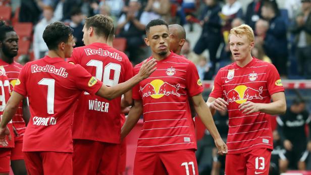 FUSSBALL: ADMIRAL BUNDESLIGA/GRUNDDURCHGANG: RED BULL SALZBURG - SV GUNAMATIC RIED