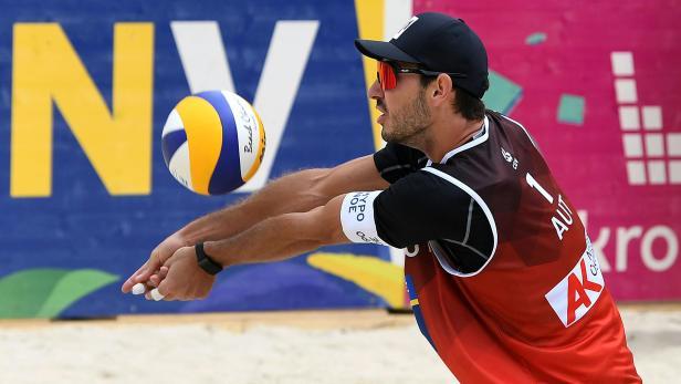 BEACH-VOLLEYBALL: OLYMPIA-QUALIFIKATIONSTURNIER: KONTINENTALCUP: ERMACORA (AUT)