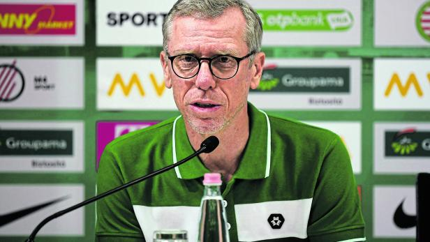 Peter Stoeger appointed as New head coach of Ferencvaros TC