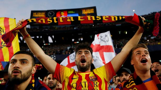 Champions League Semi Final First Leg - FC Barcelona v Liverpool