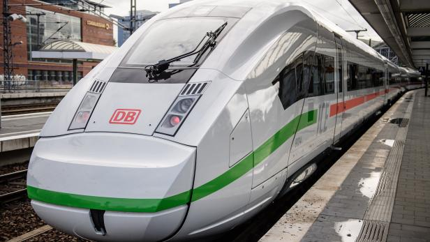 German railway company Deutsche Bahn introduces new ICE train design
