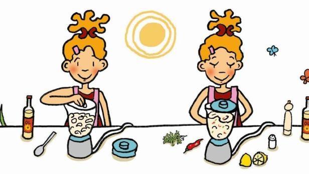 Lilli kocht Bohnenaufstrich