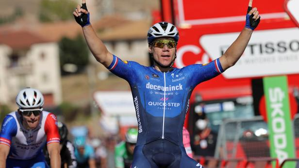 4th stage of the Spanish Cycling Vuelta
