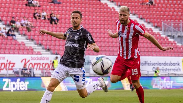 FUSSBALL: CONFERENCE LEAGUE: PLAY-OFF HINSPIEL: LASK - ST. JOHNSTONE