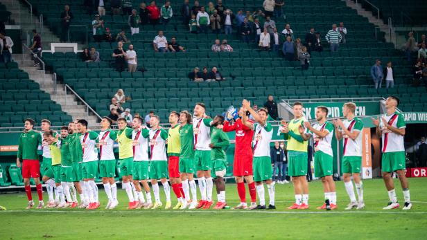 FUSSBALL/EUROPA LEAGUE/PLAY-OFF/HINSPIEL: SK RAPID WIEN - SORJA LUHANSK