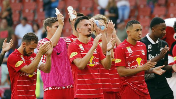 FUSSBALL: ADMIRAL BUNDESLIGA/GRUNDDURCHGANG: RED BULL SALZBURG - SK AUSTRIA KLAGENFURT