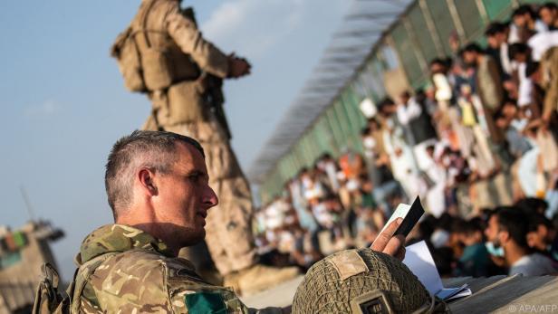 Situation am Flughafen Kabul spitzt sich zu