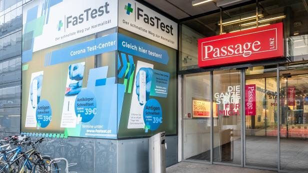 Österreichs schnellster PCR Test  Jetzt auch im FasTest Test-Center in Linz