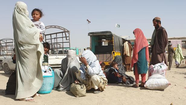 Afghanistan crisis - Chaman border crossing