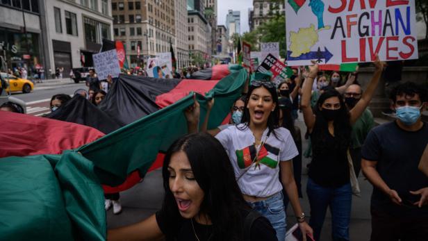US-AFGHANISTAN-POLITICS-PROTEST