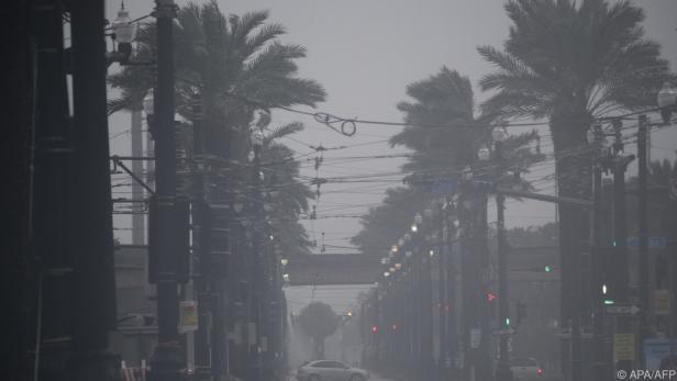 "Hurrikan ""Ida"" traf in New Orleans auf Land"