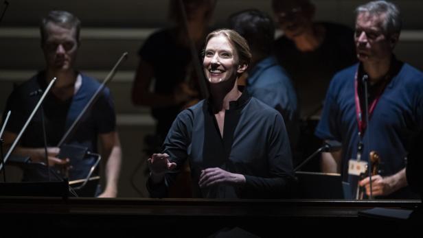 Cosi Fan Tutte dress rehearsal for the Salzburg Festival