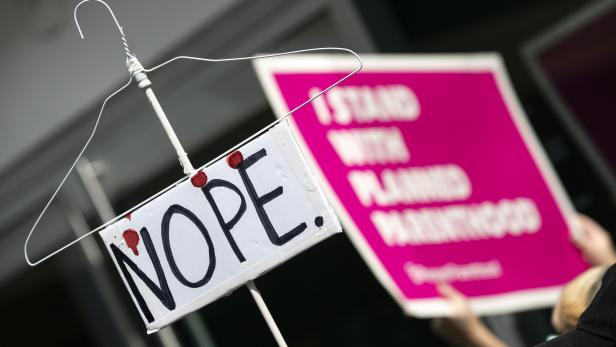 Activists protest in Hollywood in response to Alabama, Georgia and Missouri passing extreme anti abortion laws