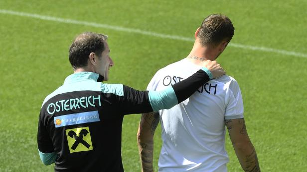 EURO 2020: TRAINING DES ÖFB-TEAMS IN SEEFELD