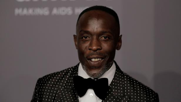 FILE PHOTO: Actor Michael Kenneth Williams arrives for an amfAR gala to celebrate Lee Daniels during New York Fashion Week in New York