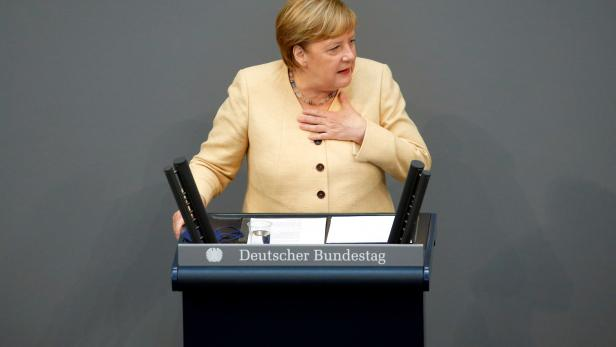 German lower house of Bundestag session, in Berlin