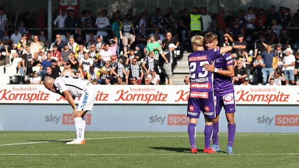 FUSSBALL: ADMIRAL BUNDESLIGA/GRUNDDURCHGANG: LASK LINZ - FK AUSTRIA WIEN