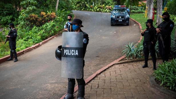 NICARAGUA-POLITICS-OPPOSITION-ARREST