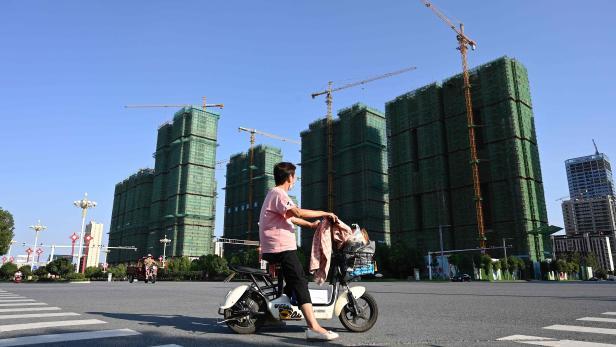 TOPSHOT-CHINA-ECONOMY-PROPERTY-EVERGRANDE