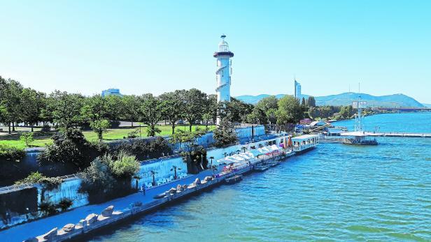 Sunken City, Donauinsel