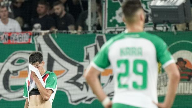 Fußball, SK Rapid Wien - Genk