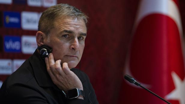 New Turkish national soccer team head coach Stefan Kuntz