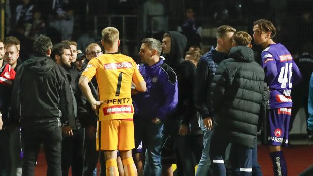 FUSSBALL: UNIQA ÖFB CUP / 2. RUNDE / KAPFENBERGER SV - FK AUSTRIA WIEN