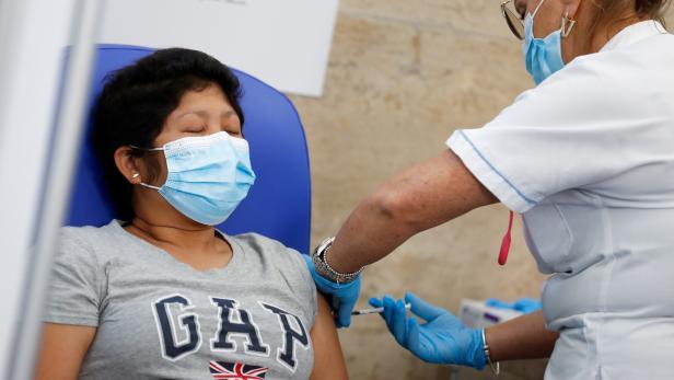 COVID-19 vaccinations in Rome