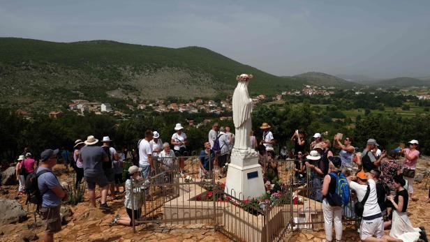 BOSNIA-RELIGION-CATHOLIC-PILGRIMAGE