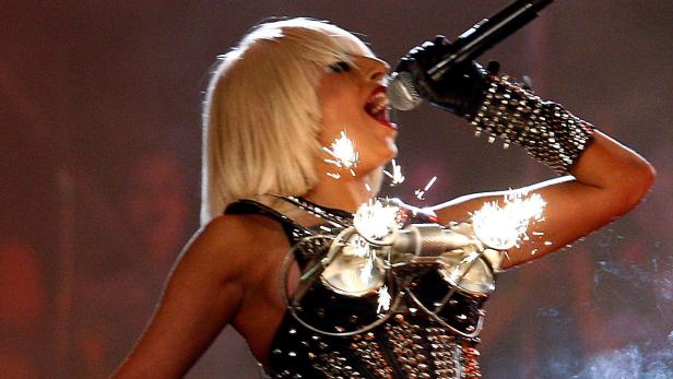 FILE PHOTO: Lady Gaga performs during the 2009 MuchMusic Video Awards in Toronto