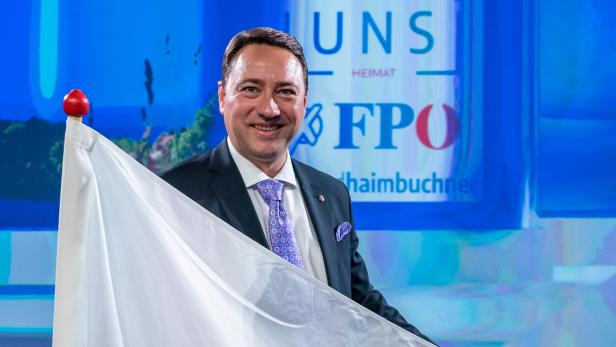 OÖ-LT-WAHL: WAHLKAMPFABSCHLUSS FPÖ: HAIMBUCHNER