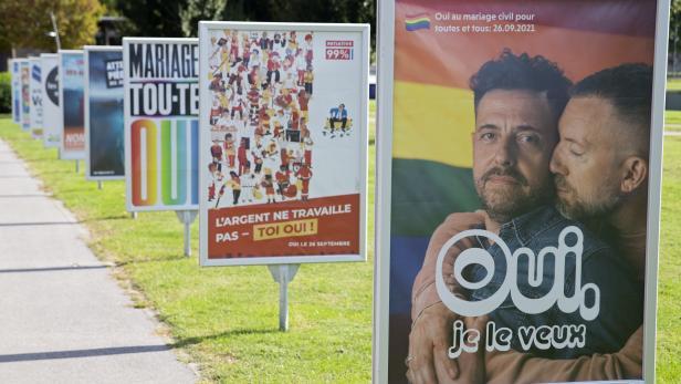 Switzerland referendum on same-sex marriage