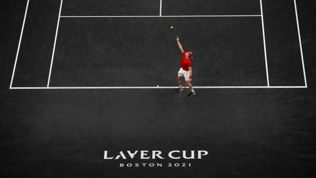 2021 Laver Cup tennis tournament in Boston