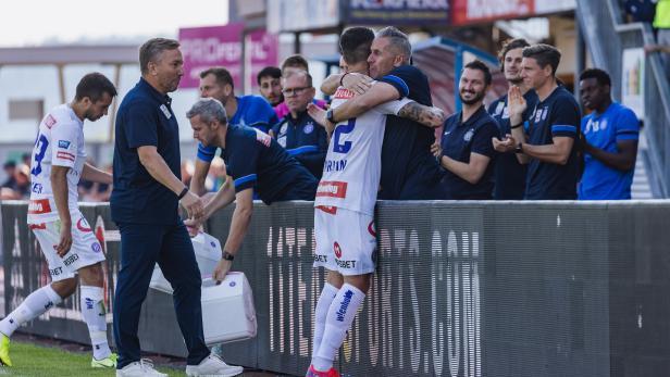 FUSSBALL: ADMIRAL BUNDESLIGA/GRUNDDURCHGANG: TSV PROLACTAL HARTBERG - FK AUSTRIA WIEN