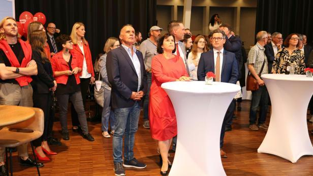 OÖ-WAHL:  SPÖ -WAHLZENTRUM