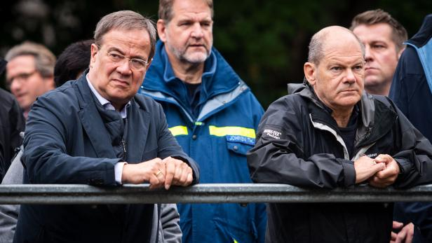 GERMANY-POLITICS-WEATHER-FLOODS