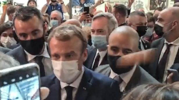 FRANCE-POLITICS-FOOD