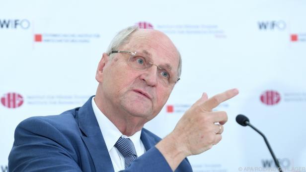 Der neue Chef im Fiskalrat Christoph Badelt