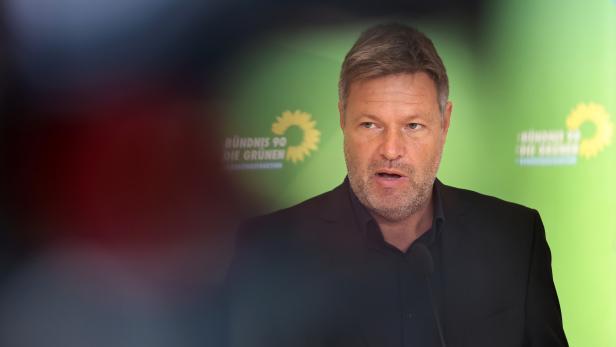 Greens faction meeting in Berlin