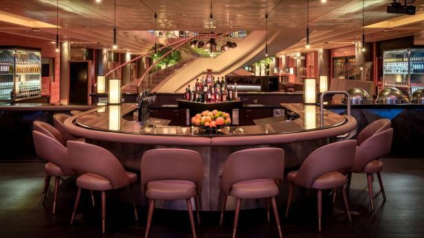 Cascade Bar Vienna Marriott