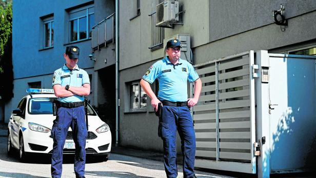 CROATIA-AUSTRIA-CRIME-CHILDREN-POLICE