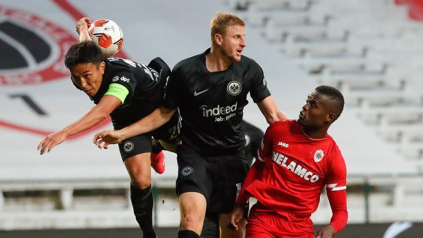 Royal Antwerp FC vs Eintracht Frankfurt