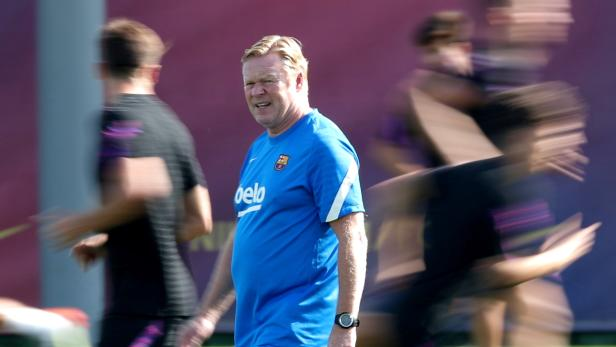 FILE PHOTO: Champions League - FC Barcelona Training