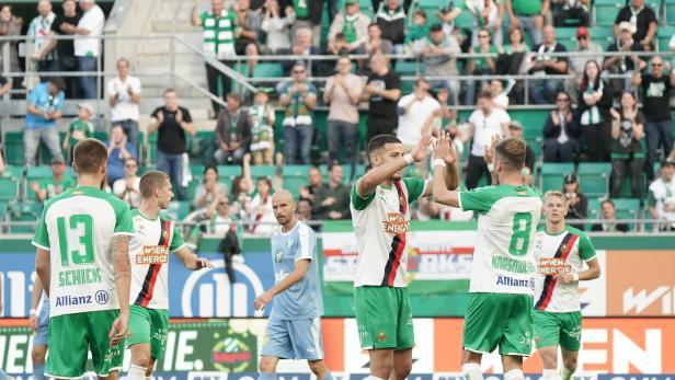Fußball, SK Rapid Wien - HWSG Tirol