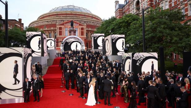 """The World Premiere of """"No Time To Die"""" in London"""
