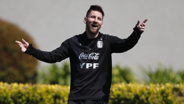 World Cup - South American Qualifiers - Argentina Training
