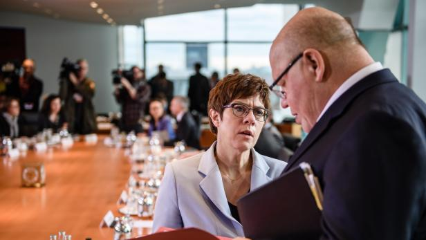 Cabinet meeting at the Chancellery in Berlin