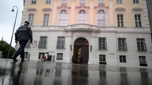 Raid at the Austrian Chancellery in Vienna